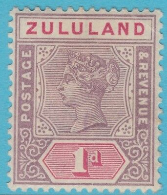 Zululand 16  Mint Hinged Og *  No Faults Extra Fine !