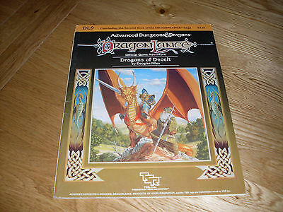 Dragonlance Dragons Of Deceit - DL9 - AD&D - TSR