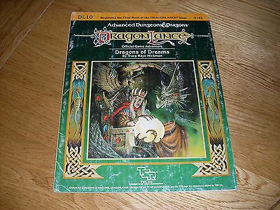 Dragonlance Dragons Of Dreams - DL10 - AD&D - TSR