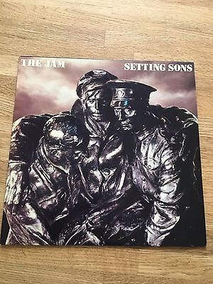 The Jam 'Setting Sons' 1979 Vinyl LP Embossed Sleeve