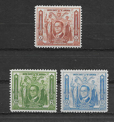 Philippines, Usa , 1935 , 1St Anniv. Issue , Set Of 3 ,  Perf, Vlh
