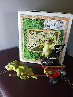 pocket dragons go go getaway cart with box