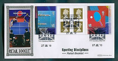2010 Sporting Disciplines Table Tennis Retail Booklet Pane