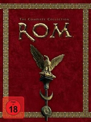 Rom - The Complete Collection 11 DVDs NEU OVP Staffel 1+2 Rom Box