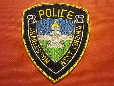 Collectible West Virginia Police Patch Charleston Capital City New