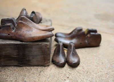 Reclaimed Shoe Lasts - Set of 2