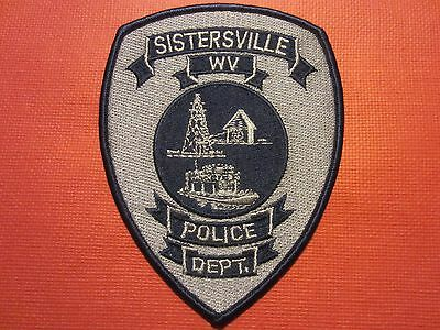 Collectible West Virginia Police Patch Sistersville New