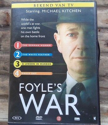 Foyle's War : Series1: DVD with episodes 1,2, 3, 4