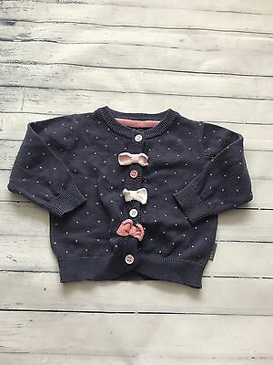 Baby Girls Clothes 0-3 Months - Pretty Girl  Cardigan