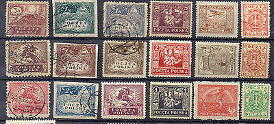 POLOGNE ! Timbres anciens depuis1919 ! NEUFS