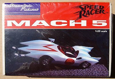 """Streamline Pictures """"Speed Racer"""" Mach 5 (1992) 1/25  >>Sealed<<"""
