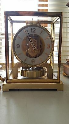 Jaeger le coultre Atmos clock calibre 526 approx 1950`s fully serviced