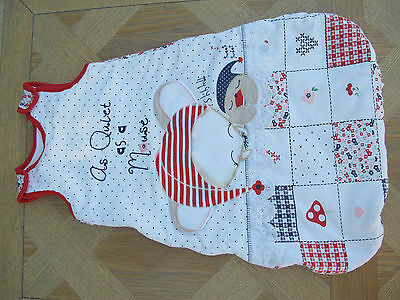 Baby sleeping bag 0-6 months from TU