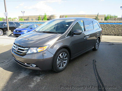 2017 Honda Odyssey Touring Automatic Touring Automatic 4 dr Van Automatic Gasoline 3.5L V6 Cyl SMOKY TOPAZ MET