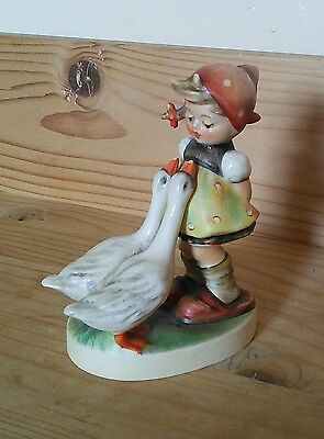 Hummel Goebel Girl with Two Geese Model 47
