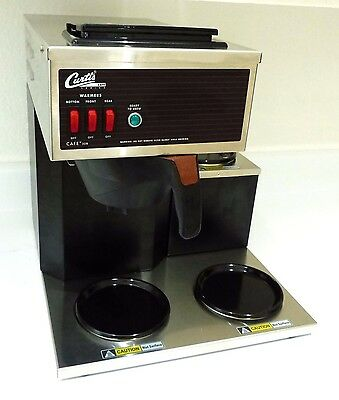 New Wilbur Curtis Cafe 3DB CAFE3DB10A000 Coffee Brewing Warming Pourover System