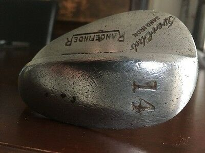 Vintage EverClub Sand Iron Rangefinder Golf Club Marked 14 Iron