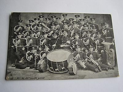 Royal Artillery Band 1909 military Newcastle on Tyne posted