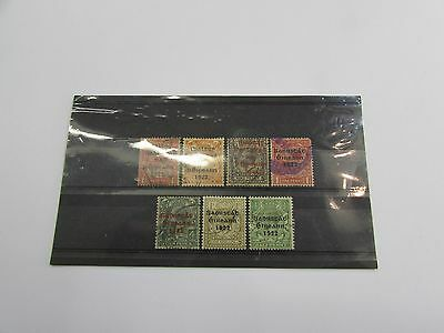 Selection of early Ireland overprinted stamps