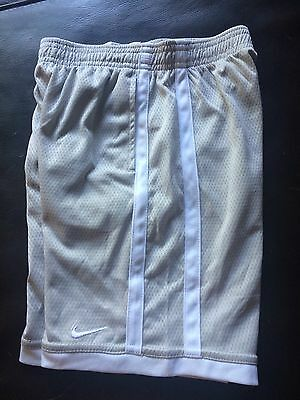 Nike Boys Shorts Size 7 Gray White New Without Tags