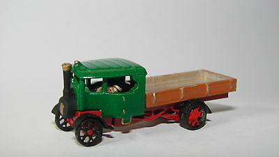 N Gauge metal HAND-PAINTED Foden 6 Ton C-Type Steam Wagon (1925) - Brand New!