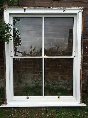 Original Complete Victorian sash window