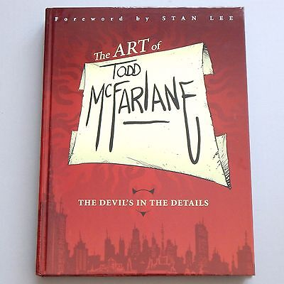 The Art of Todd McFarlane - Devil's In the Details - Hardcover Book HC - NEW
