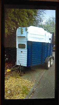 rice horsebox horse trailer recently referbished