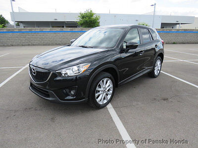 2015 Mazda CX-5 AWD 4dr Automatic Grand Touring AWD 4dr Automatic Grand Touring SUV Automatic Gasoline 4 Cyl BLACK