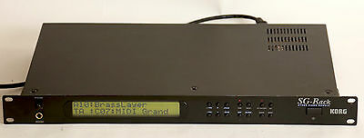 Korg SG-Rack sound module midi stage piano AWESOME 90s SOUNDS EXC CONDITION