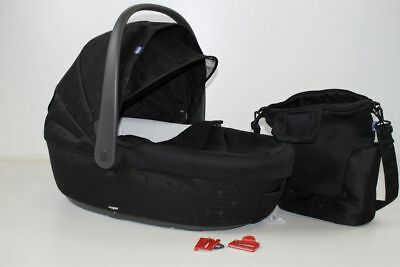 Chicco Trio Love mit Kit Car, Black, Babywanne + Wickeltasche !