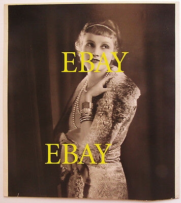 """1927 """"Her Cardboard Lover"""" Over-sized Photograph Jeanne EAGELS 5"""