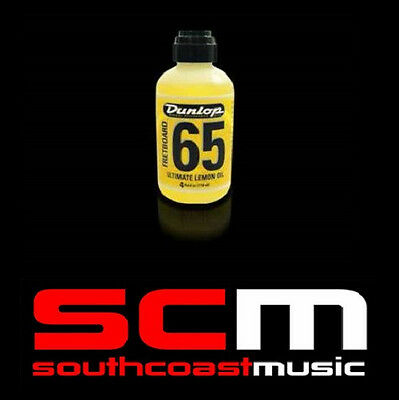 DUNLOP Formula 65 GUITAR FRETBOARD LEMON OIL 118mL NEW