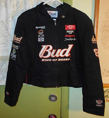 Unisex CHASE AUTHENTICS NASCAR Budweiser #8 Earnhardt Jr. Jacket - 2XL