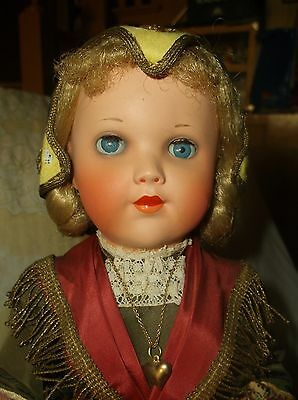 16-in antique doll marked CADETTE FRANCE, all original, must see!