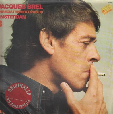Jacques Brel Enregistrement Public Amsterdam 3 Barclay Vinyl LP