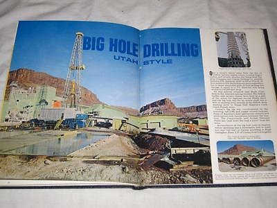 1968 Howard Hughes Tools Rigway Magazine Hardbound 4 Issues Oil Drilling Rigs