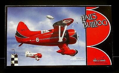Williams Brothers Model Kit Hall's Bulldog National Air Races 1/32 Scale