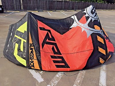 Slingshot RPM 12m kiteboarding kite with bag no problems ready to fly now