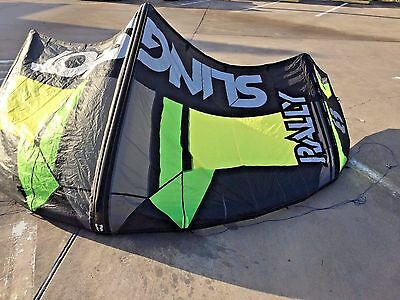 Slingshot Rally 8m Kiteboarding kite...great deal on a small kite..ready to fly