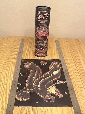 "2016 Sailor Jerry Spiced Rum Mini Poster / Print with Canister ""Eagle"""