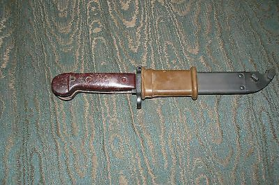 Ak47 Type 1 Bayonet & Scabbard With Matching Serial Number