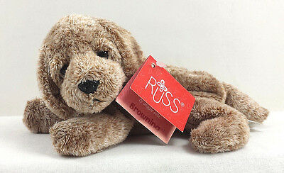 Browning Labrador Puppy Russ Luv Pets Soft Plush Beanbag Mini Dog Stuffed Berrie