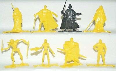Very Rare Cereal Premium Mexican Figures Promotion Star Wars Yellow Tinykins