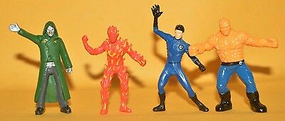 Rare Cereal Premium Mexican Figures Promotion Barcel Fantastic Four Tinykins -