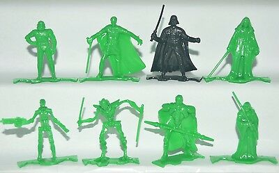 Very Rare Cereal Premium Mexican Figures Promotion Star Wars Green Tinykins