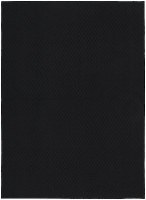 Garland Rug Town Square Area Rug 5-Feet by 7-Feet Black