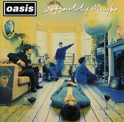 Oasis - Definitely Maybe - Oasis CD QAVG The Cheap Fast Free Post The Cheap Fast