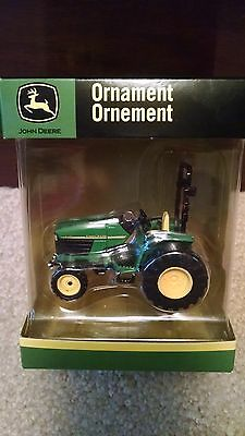 John Deere tractor ornament lawn garden American Greetings holiday NIB NEW