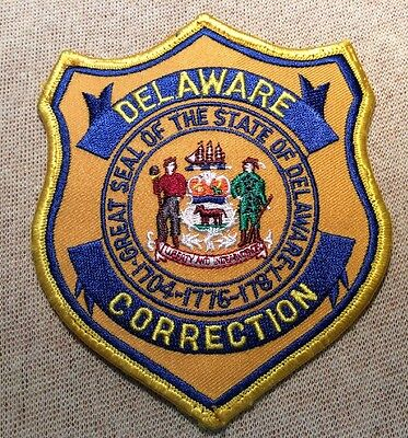 DE Delaware Department of Correction Patch